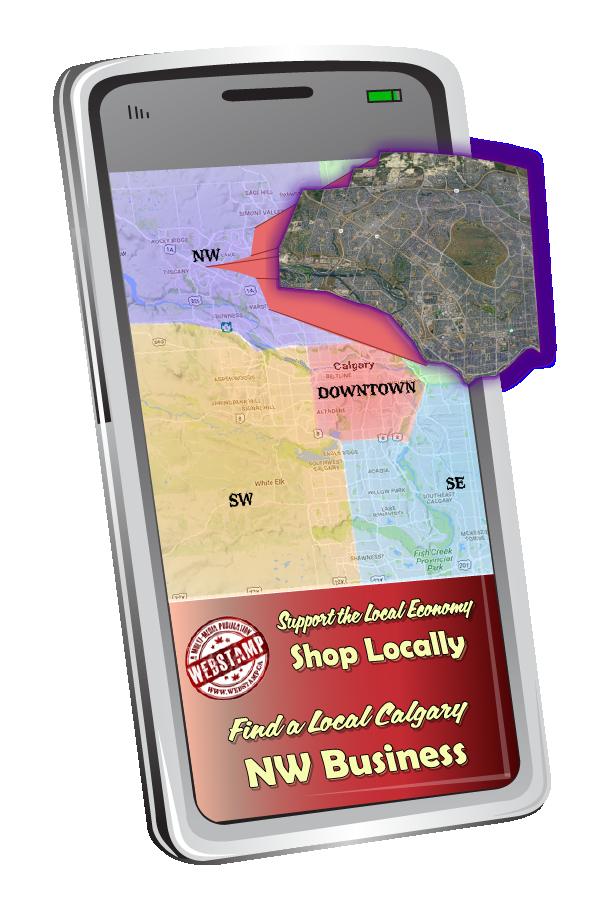 WebStamp's Calgary Northwest Business Directory