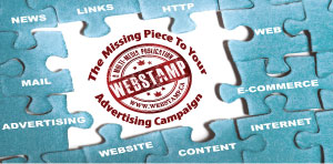 WebStamp 1x2 Ad | Missing Piece to Advertising Puzzle