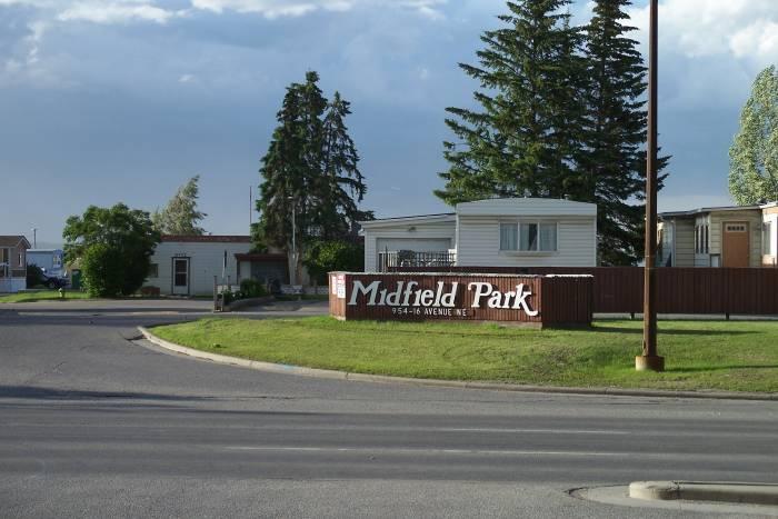 Midfield Trailer Park in Calgary