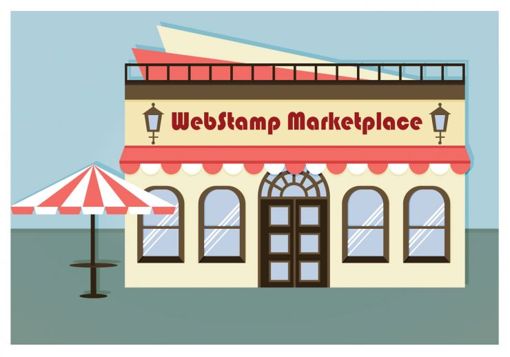WebStamp Marketplace