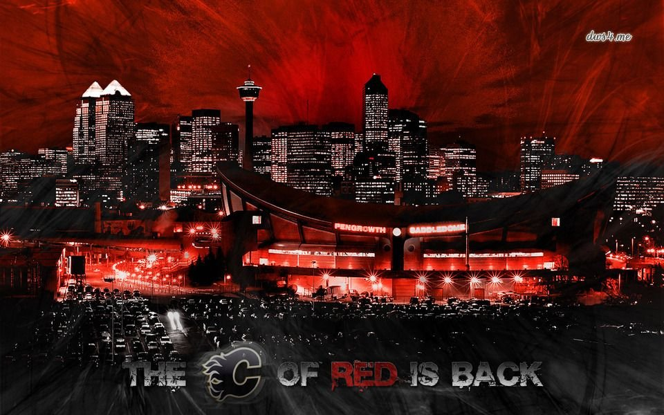 Saddledome C of Red is Back